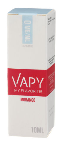 Vapy Morango - 10ml (0mg)
