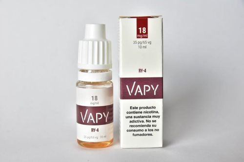 Vapy RY-4 10ml TPD 18mg Nicotina