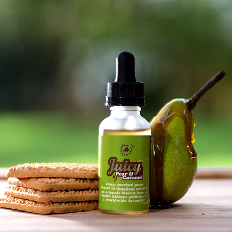 Juicy Pears & Caramel - 20 ml -  (Preparado para añadir 10 ml NicShot)