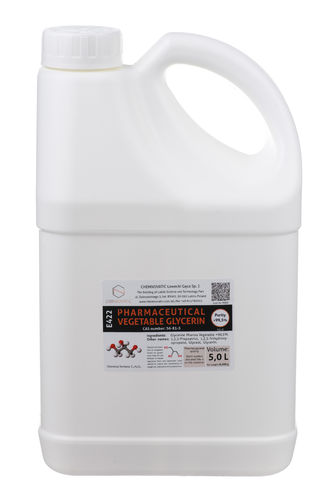 Nic Base VG-0 Pure Vegetable Glycerine - 5L - Chemnovatic
