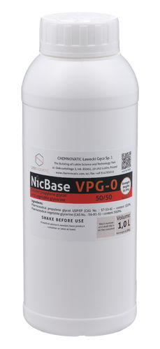 Nic Base VPG-0 50/50 - 1L - Chemnovatic