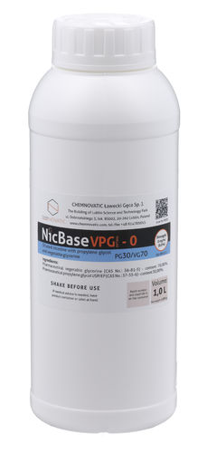 Nic Base VPG OPTIMA-0 70VG/30PG - 1L - Chemnovatic