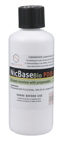 Nic Base PDO-0 - 100ml - Chemnovatic