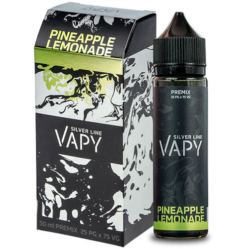 Vapy Silver Line Pineapple Lemonade - 50ml em garrafa 60ml (Short Fill)