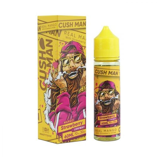 Cush Man - Mango Strawberry (50ml em bottle 60ml Short Fill)