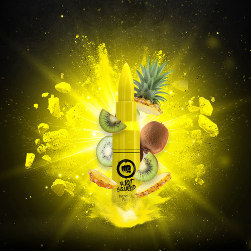 Riot Squad - TROPICAL FURY (50ml em bottle 60ml Short Fill)
