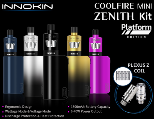 Innokin CoolFire Mini 40W Zenith D22 Kit