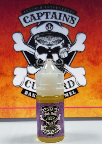 Captain's Custard by Nom Nomz- Peanut Butter Concentrate - 30ml