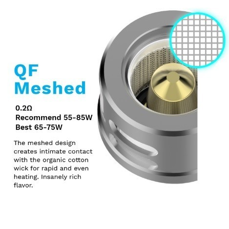 Vaporesso QF Meshed 0,2ohm - Pack 3