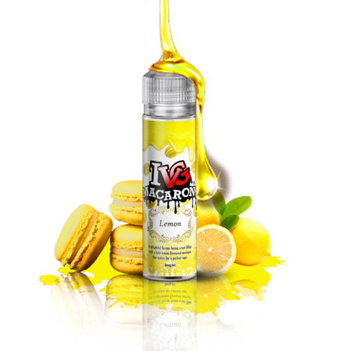 I VG Macarron Lemon - 50ml em Unicorn bottle 60ml - (NicShot Ready)