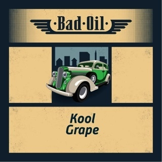 BAD OIL 2 Kool Grape - 50ml em Unicorn bottle 60ml - (Preparado para adicionar 10ml NicShot)