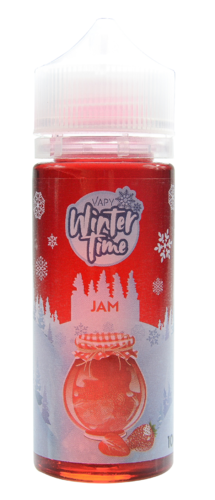 Vapy Winter Time Jam - 100ml em garrafa 120ml (Short Fill)