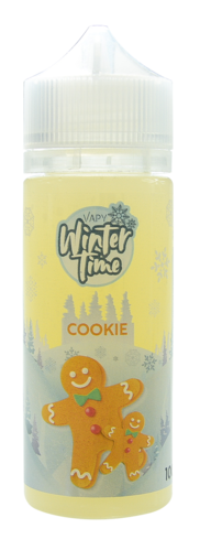 Vapy Winter Time Cookie - 100ml em garrafa 120ml (Short Fill)