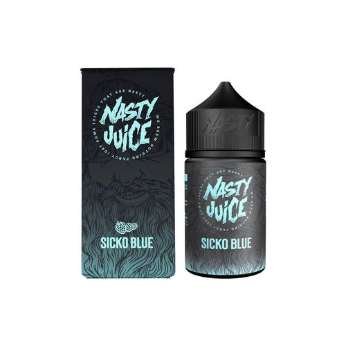 Nasty Juice - Sicko Blue (50ml em bottle 60ml Short Fill)