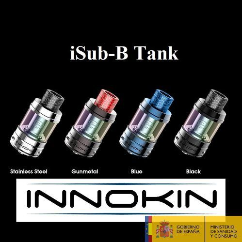 Innokin iSub B Tank 2ml + Glass Tube 4ml (Oferta)
