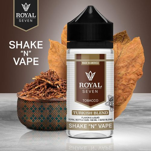 Royal Seven By Halo Turkish Blend 50ml (Shortfill)