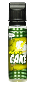 Drops Mommy Cake - 50ml em Unicorn bottle 60ml - (Preparado para adicionar 10ml NicShot)