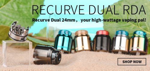 Recurve DUAL RDA 24mm BF Designed by Mike Vapes