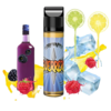 Tury Vaper GUERRERO - 50ml em Unicorn bottle 60ml - (Preparado para adicionar 10ml NicShot)