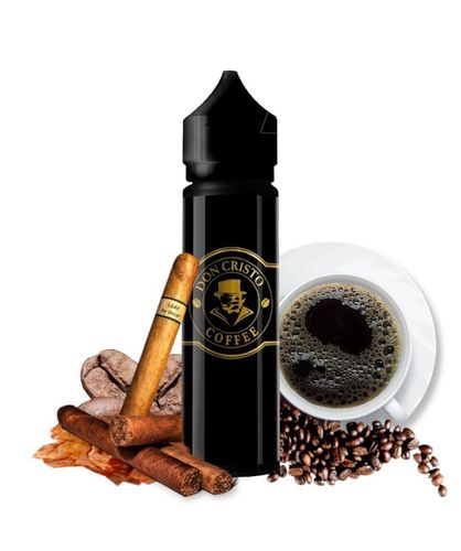 Don Cristo COFFEE - 50ml em Unicorn bottle 60ml - (Preparado para adicionar 10ml NicShot)