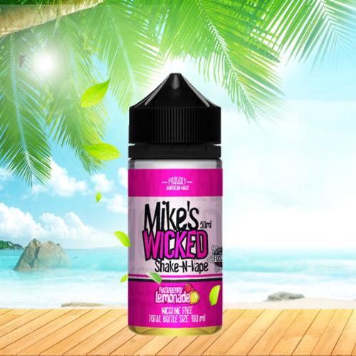 Mikes Wicked by Halo - Wicked Raspberry Lemonade - 50ml em Unicorn bottle 100ml