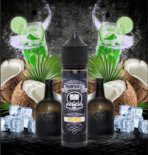 FrankenSkull WILDER - 50ml em Unicorn bottle 60ml - (Preparado para adicionar 10ml NicShot)