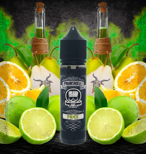 FrankenSkull PRICE - 50ml em Unicorn bottle 60ml - (Preparado para adicionar 10ml NicShot)