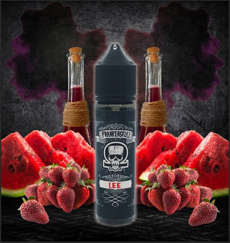 FrankenSkull LEE - 50ml em Unicorn bottle 60ml - (Preparado para adicionar 10ml NicShot)