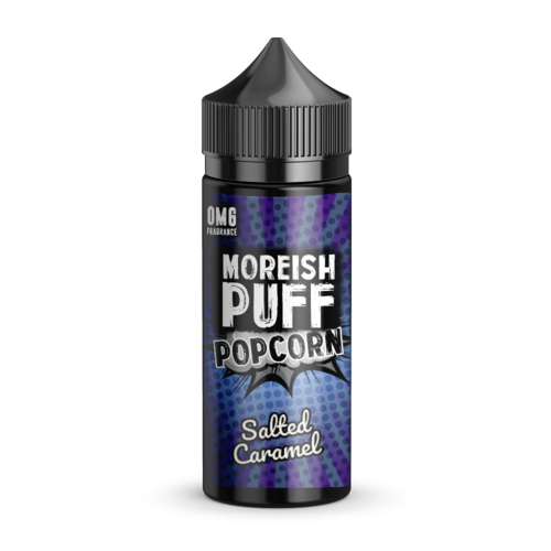 Moreish Puff Salted Caramel Popcorn Short Fill - 100ml em Unicorn bottle 120ml