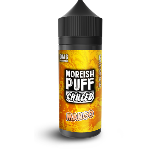 Moreish Puff Chilled Mango Short Fill - 100ml em Unicorn bottle 120ml