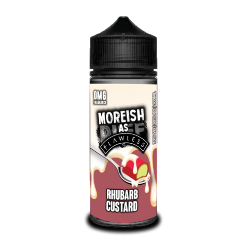 Moreish As Flawless Rhubarb Custard Short Fill - 100ml em Unicorn bottle 120ml