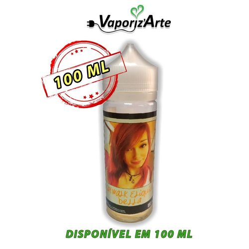 CATWALK - Bella - 100ml em Unicorn bottle 120ml - (Preparado para adicionar 20ml NicShot)