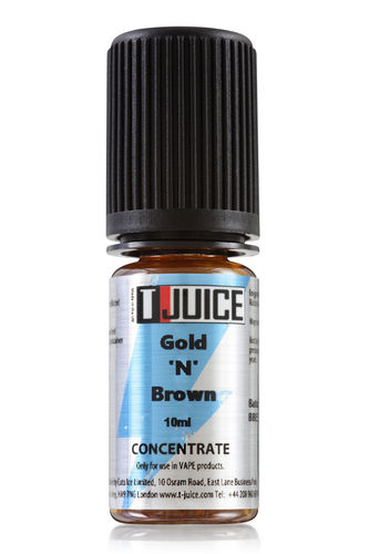 T-juice - Gold N Brown - 10ml Concentrate