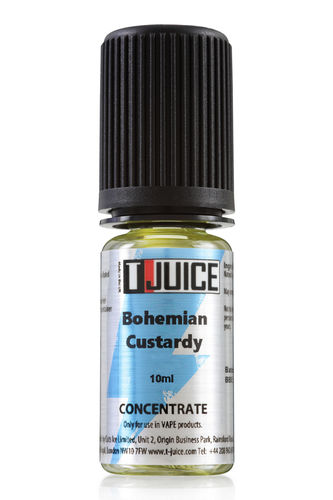 T-juice - Bohemian Custardy - 10ml Concentrate