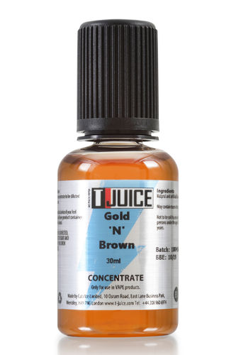 T-juice - Gold N Brown - 30ml Concentrate