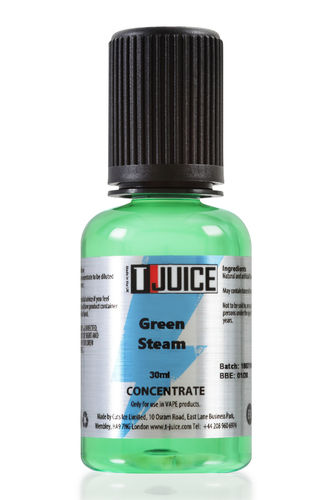T-juice - Green Steam - 30ml Concentrate