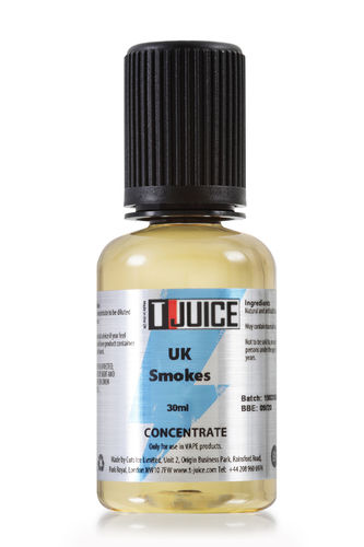 T-juice - UK Smokes - 30ml Concentrate