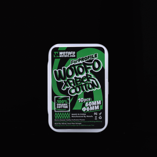 Wotofo XFiber Cotton for RDA (6mm) Pack 10 un