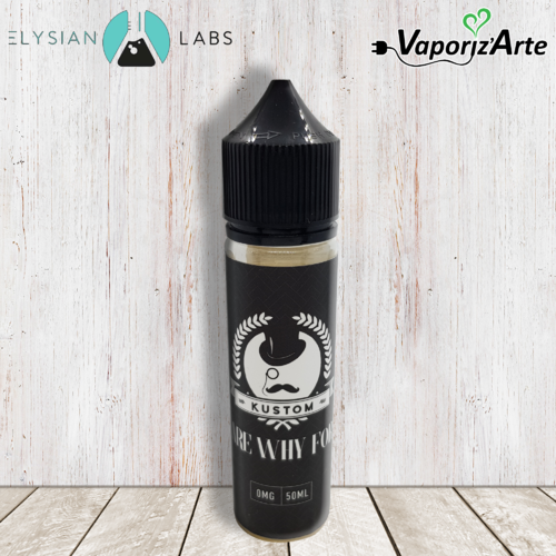 Are Why For by Elysian - 50ml em Unicorn bottle 60ml - (Preparado para adicionar 10ml NicShot)